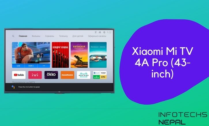 Xiaomi Mi TV 4A Pro (43 inch TV) in Nepal