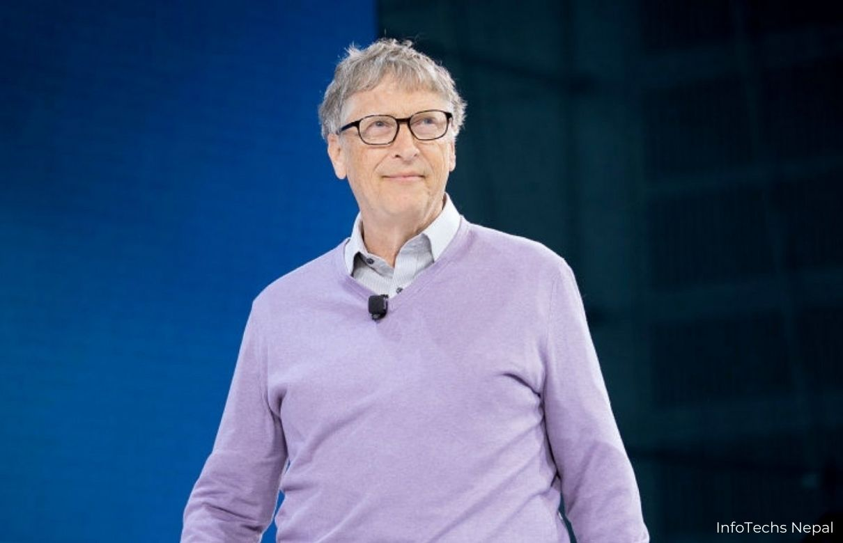 Handsome Image of Bill Gates