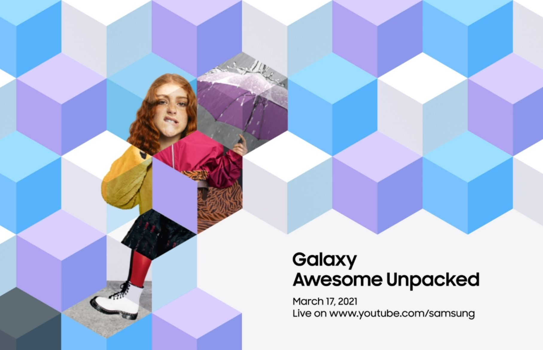 Galaxy Unpacked event for Galaxy A72 and A52