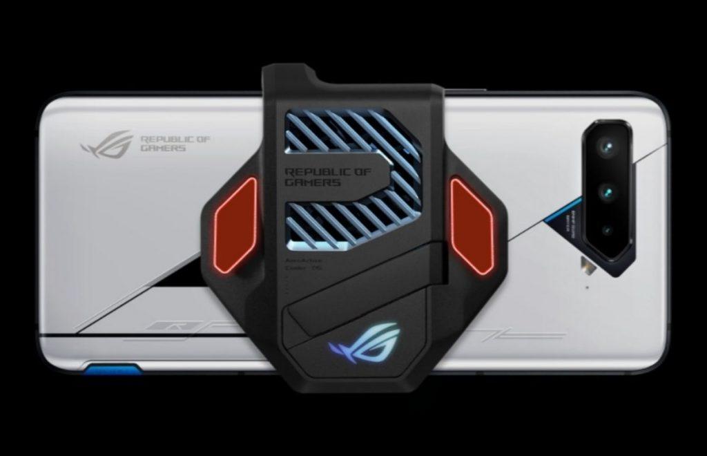 Asus Rog Phone 5 Ultimate design