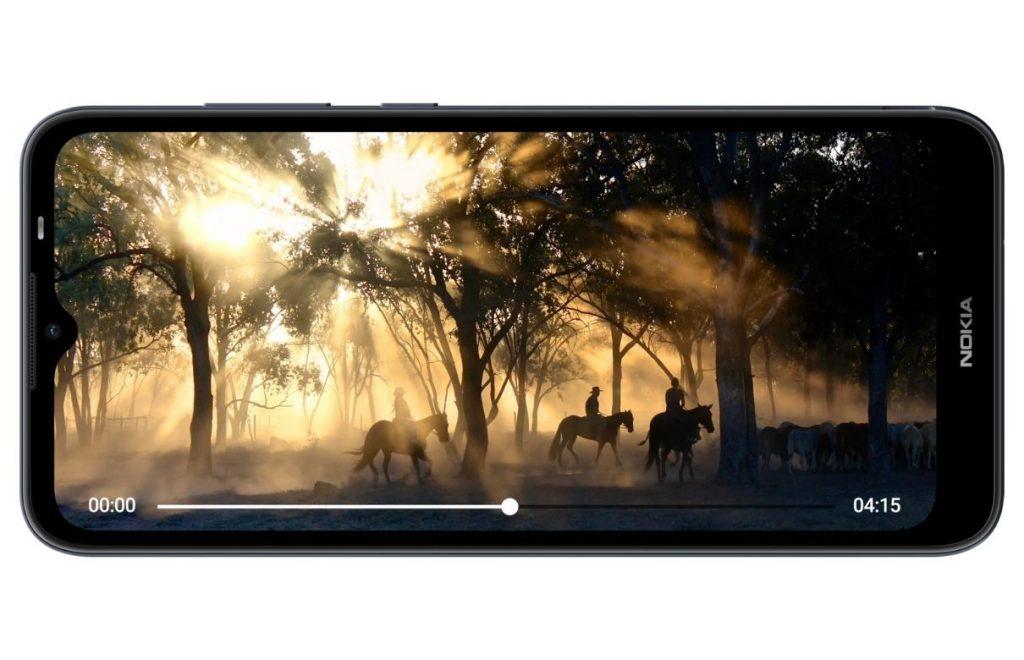Nokia C20 display