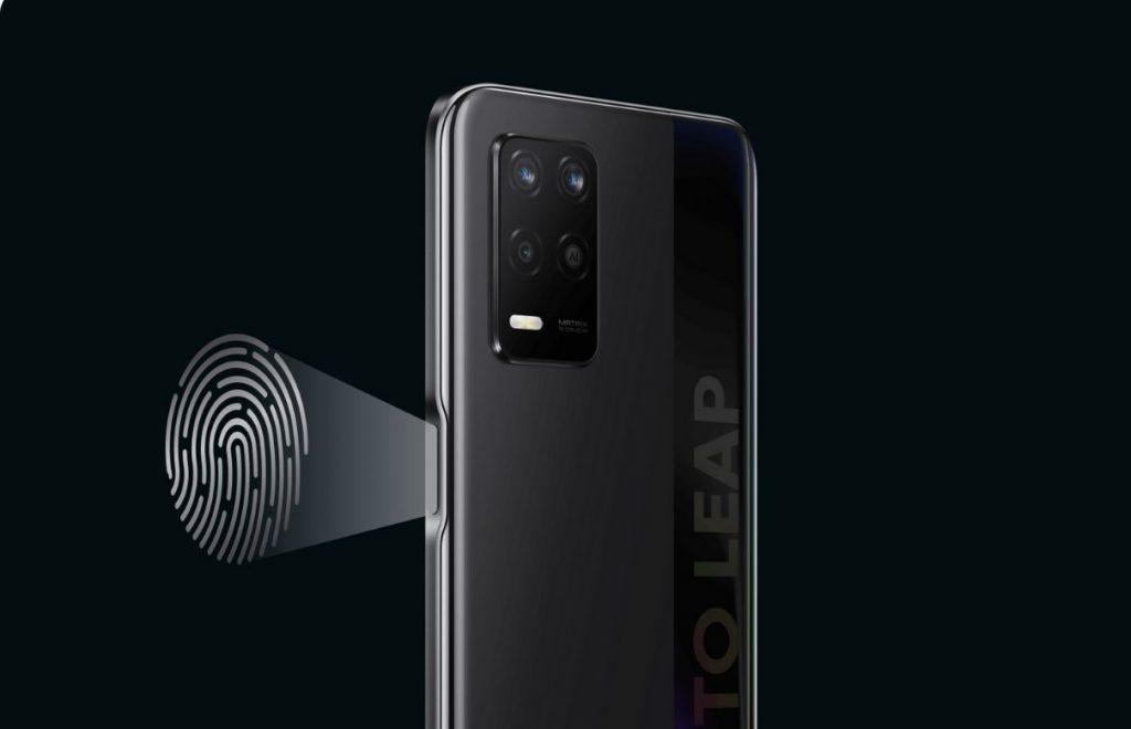 Realme Q3 5G fingerprint scanner