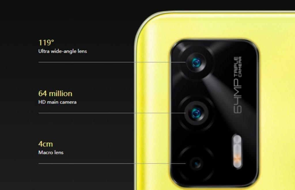 Realme Q3 Pro 5G camera