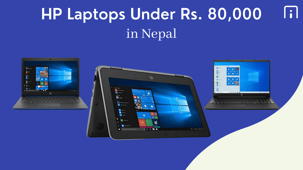 HP Laptops Under Rs. 80,000
