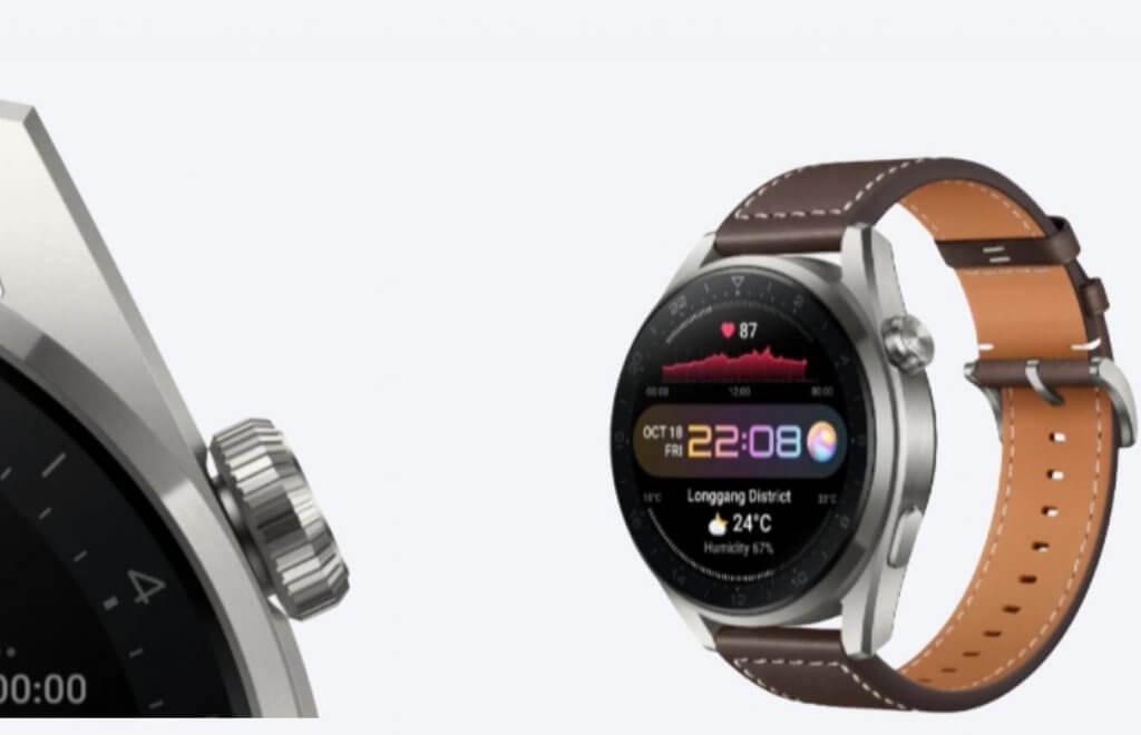 Huawei Watch 3 Pro Design