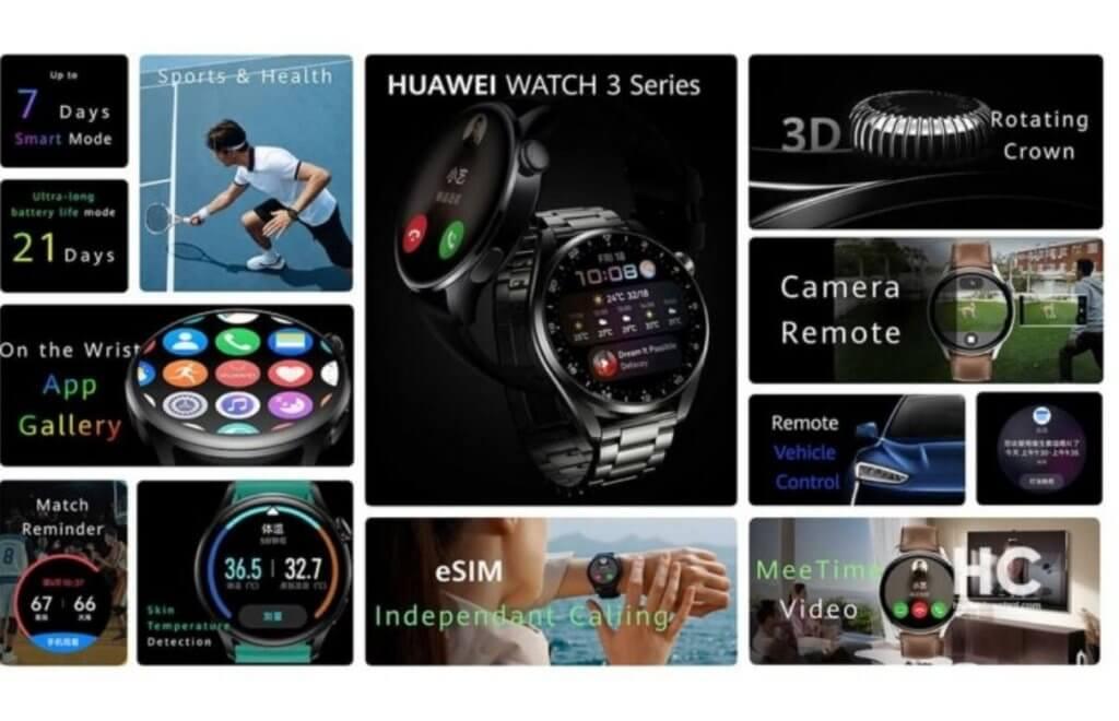 Huawei Watch 3 Pro Feature