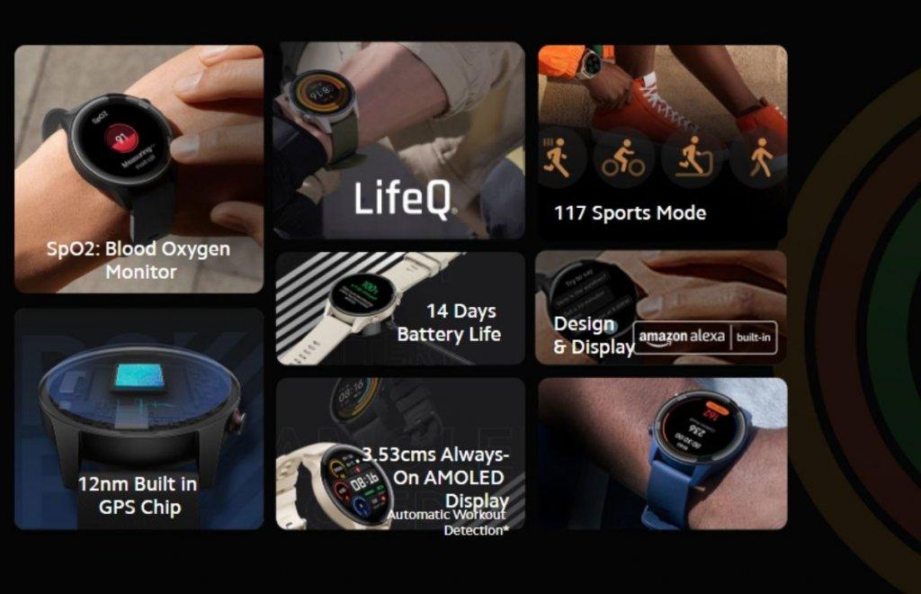 Mi Watch Revolve Active features