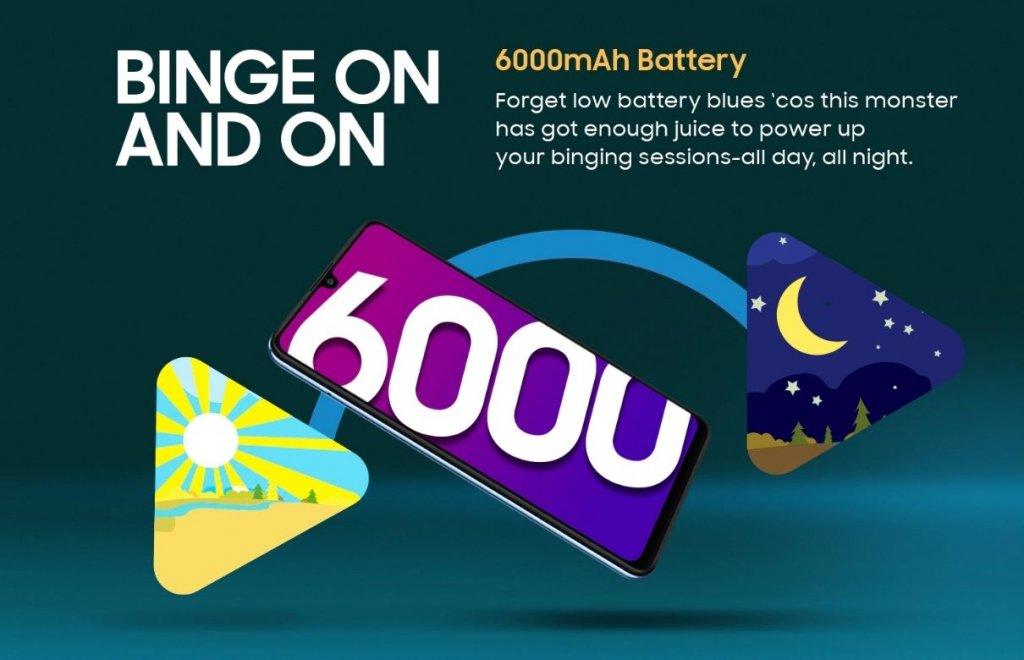 Samsung Galaxy M32 battery
