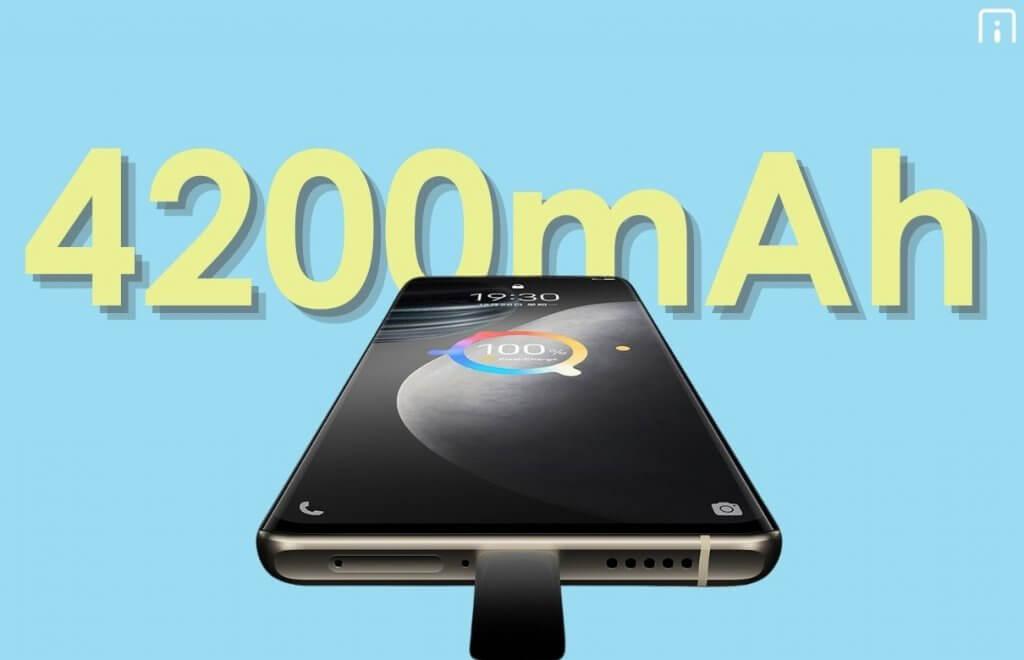 vivo X60t Pro+ battery