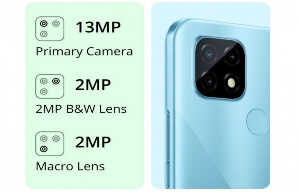 Realme C21 camera