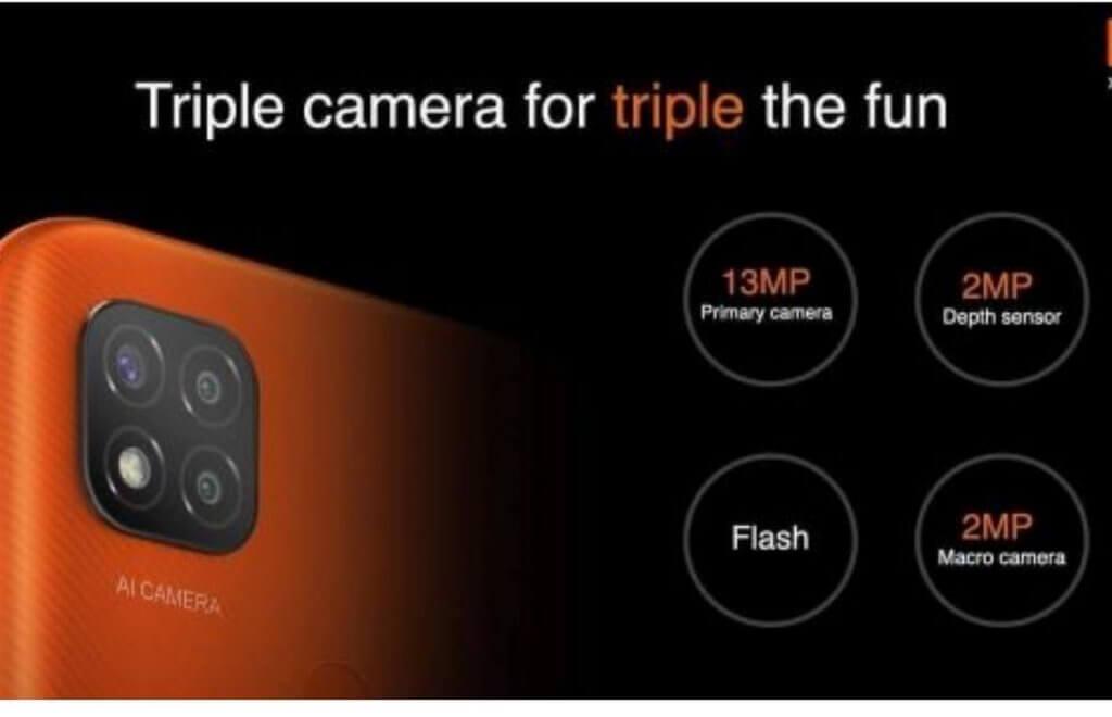 Redmi 9C camera