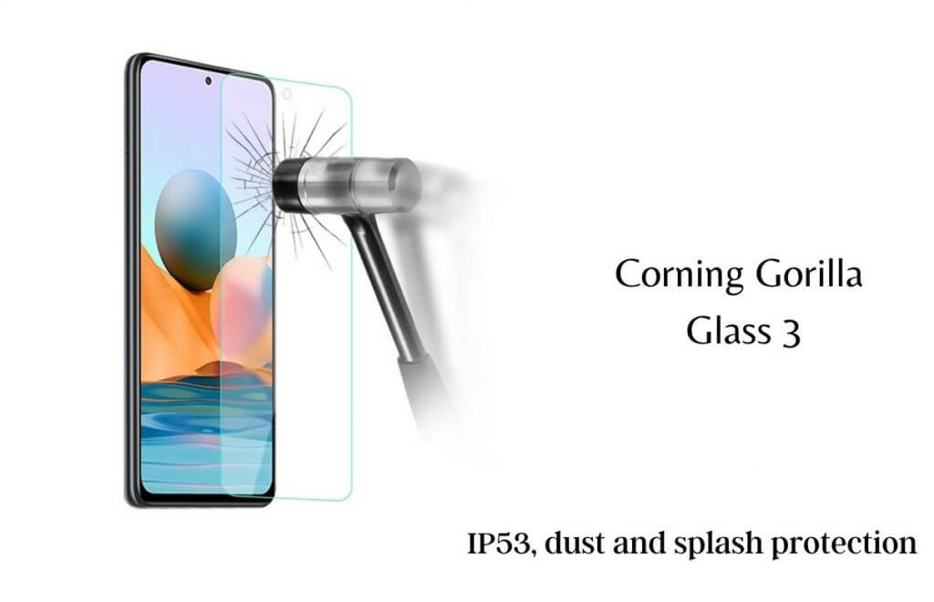 Redmi Note 10 protection glass