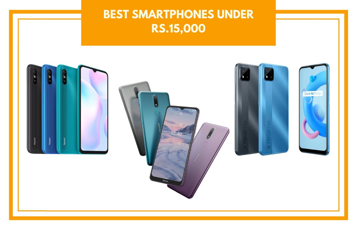 best smartphones under Rs.15,000