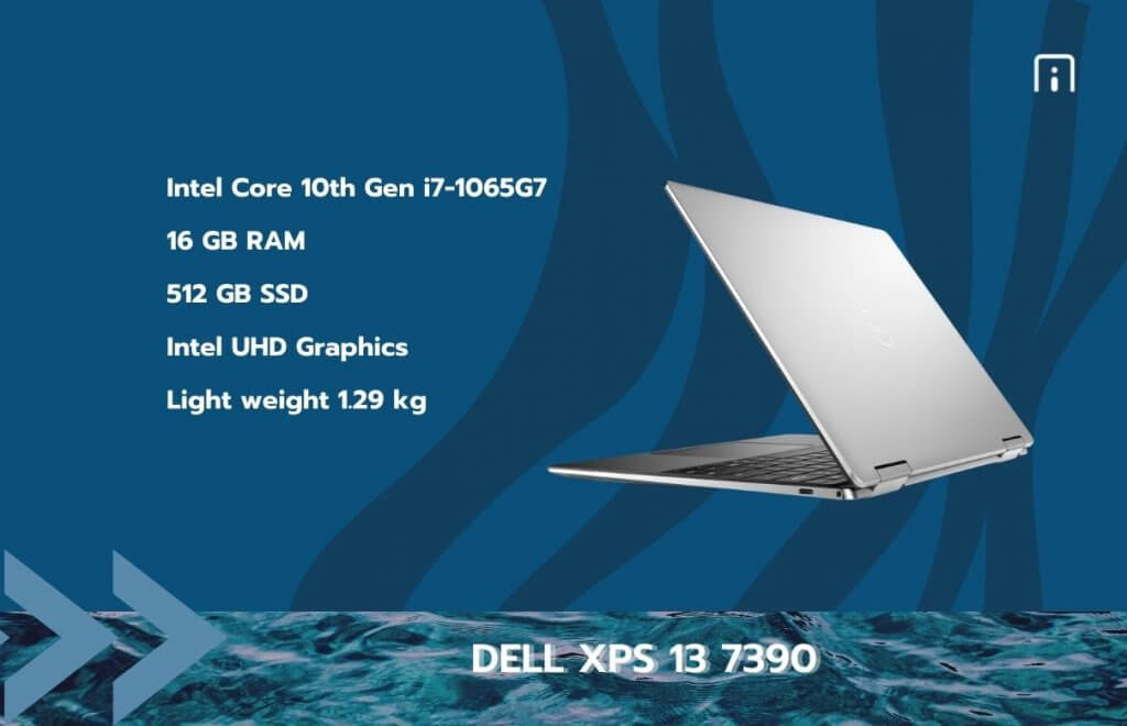DELL xps 13 7390 processor