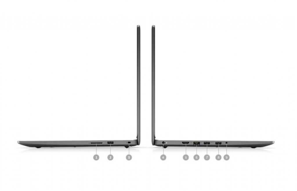 Dell Inspiron 3505 ports