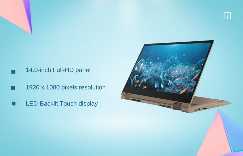 Dell Inspiron 7405 display