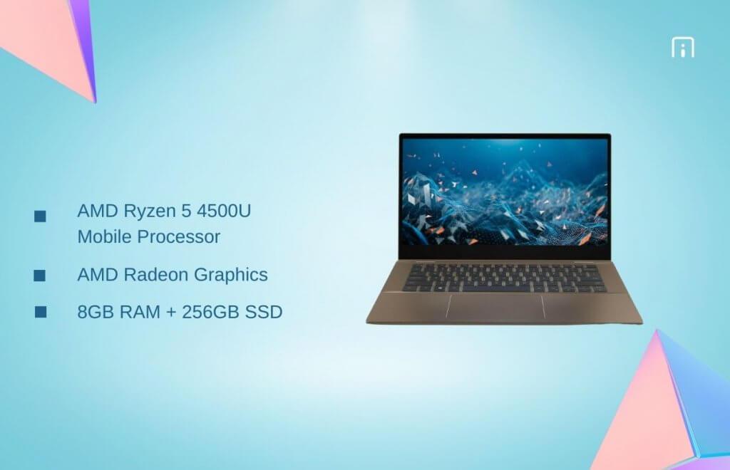Dell Inspiron 7405 processor