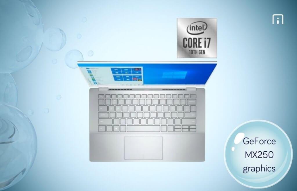 Dell Inspiron 7490 processor